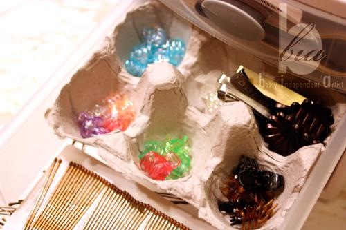 Egg-carton-organizer