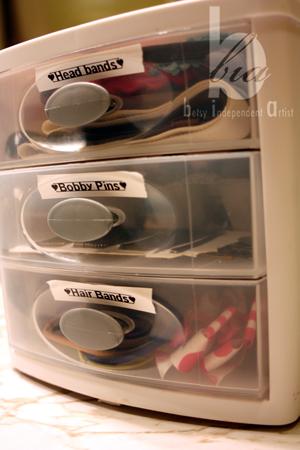 Hair-organizer